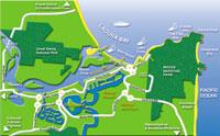 Map Of Noosa Noosa Map. Noosa maps